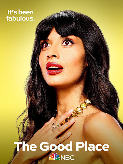 Tahani from The Good Place