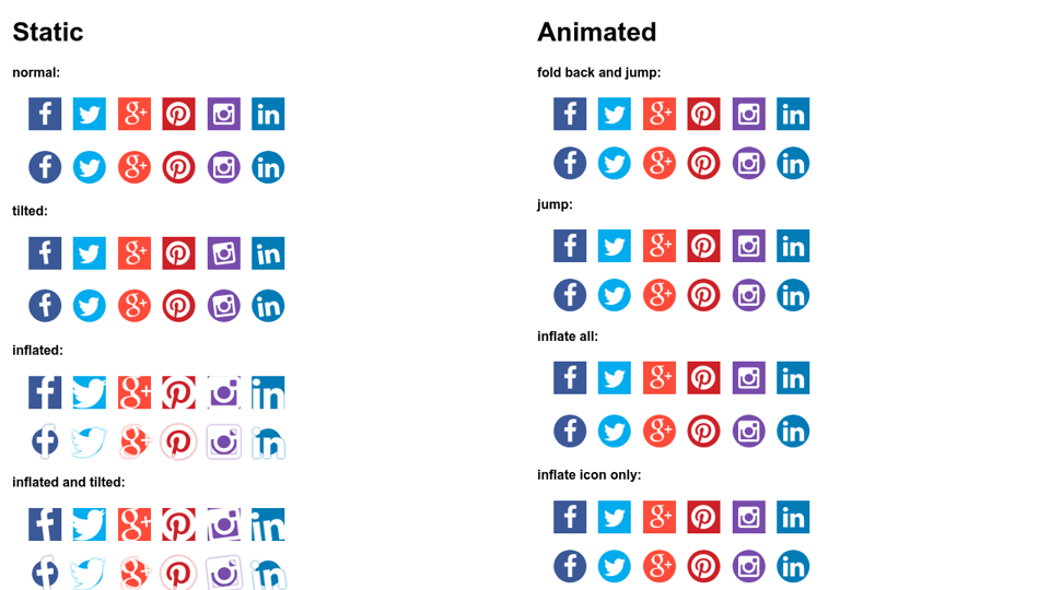 Social Icon A Collection By Eduard On Codepen