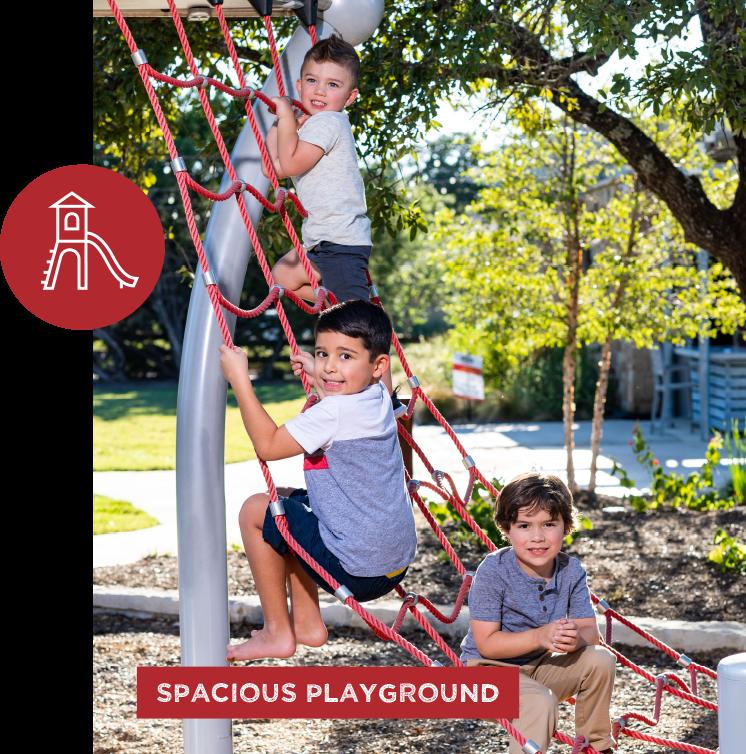 spacious playground