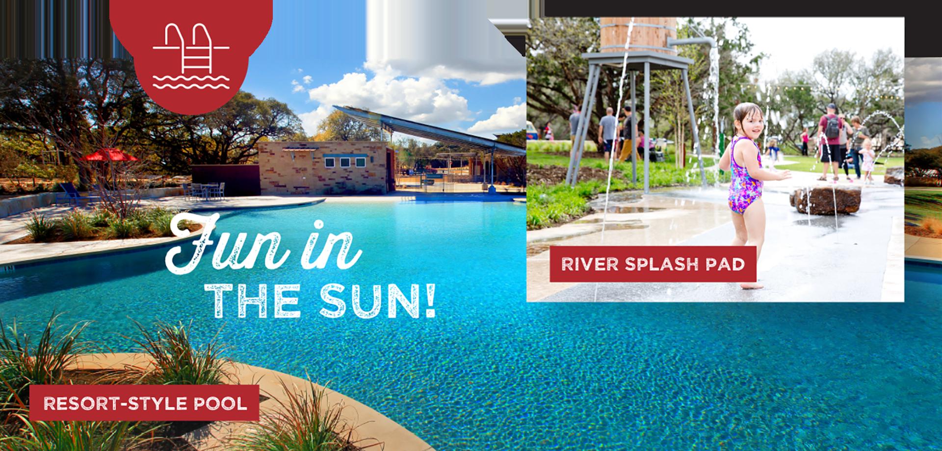 fun in the sun - resort-style pool