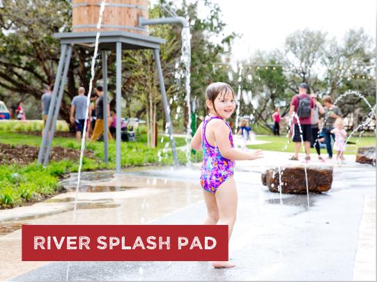 River Splash Pad
