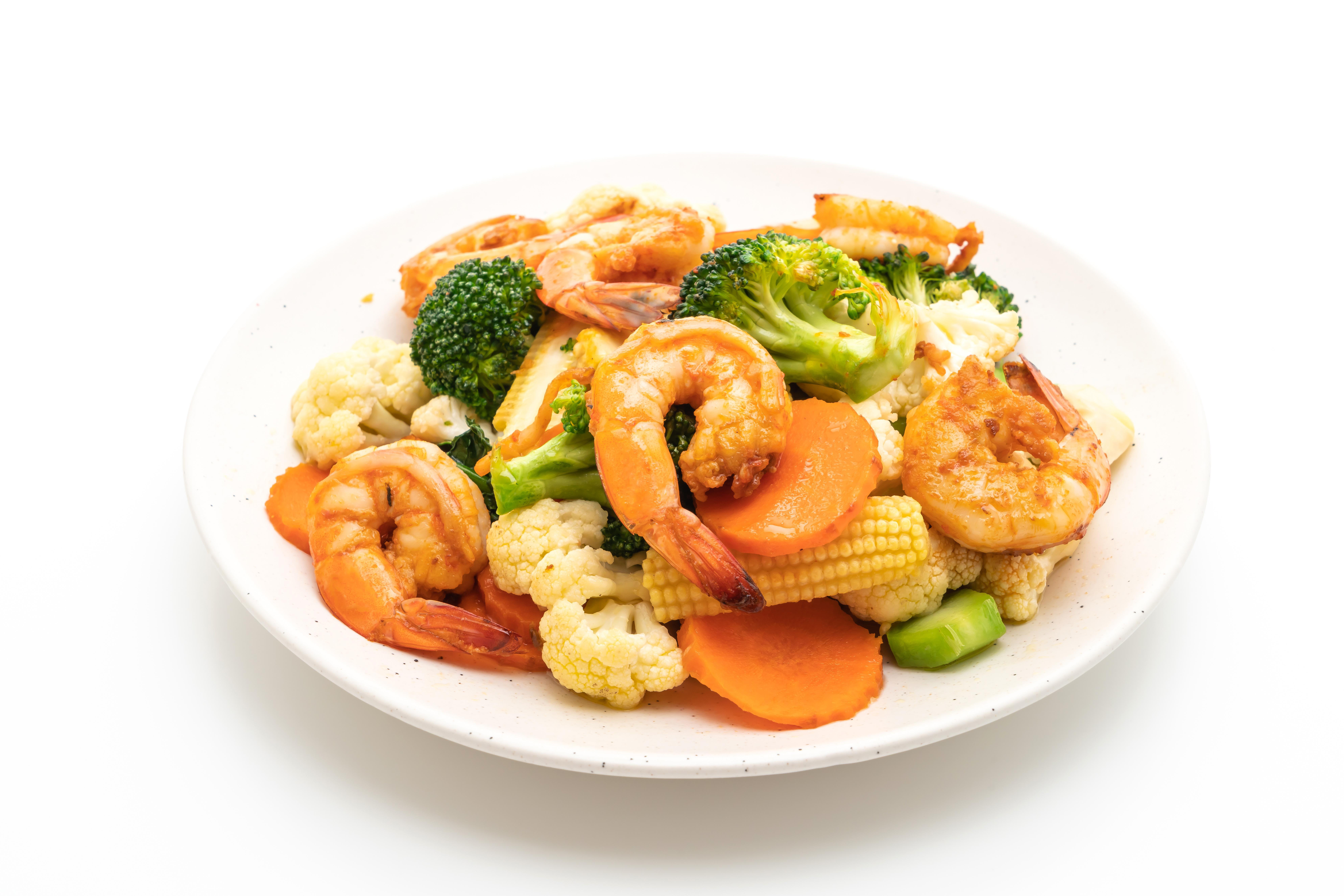 shrimp stirfry