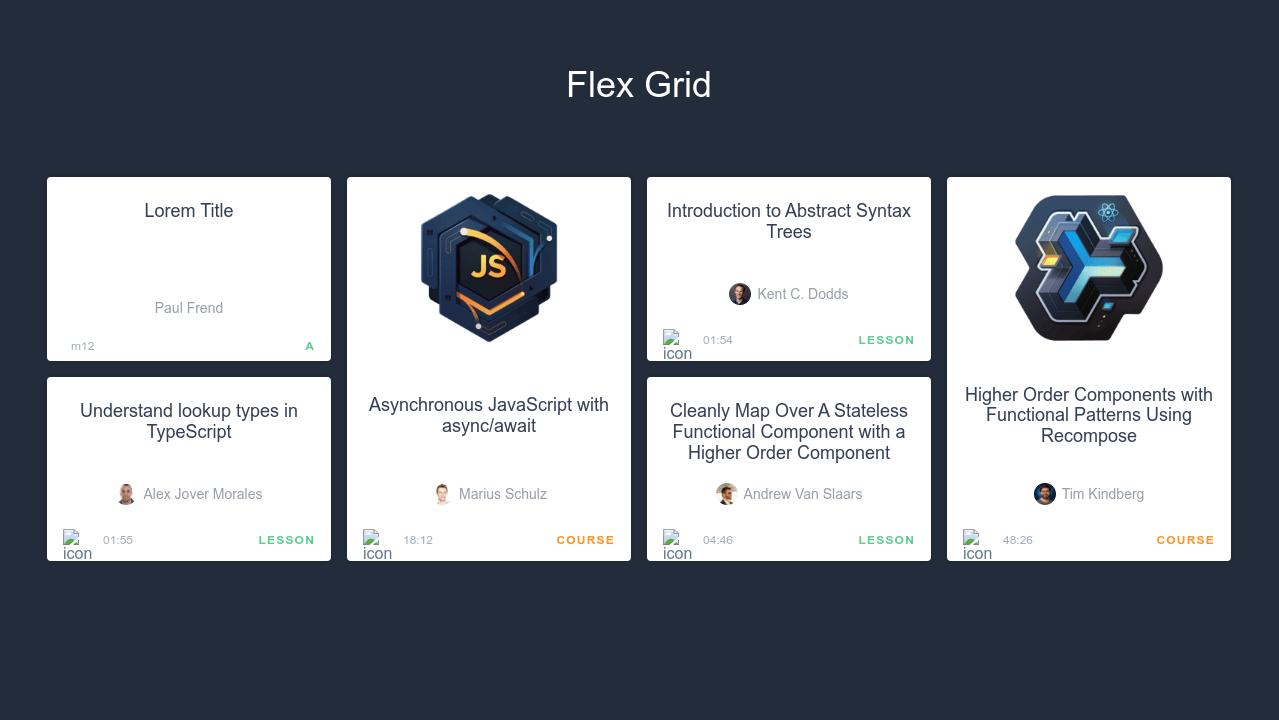 flex girl - not complete
