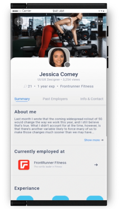 Phinge Connect Profile