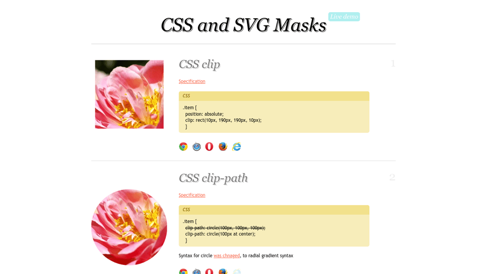 Css And Svg Masks
