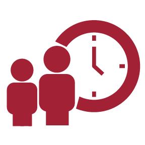 clock people icon